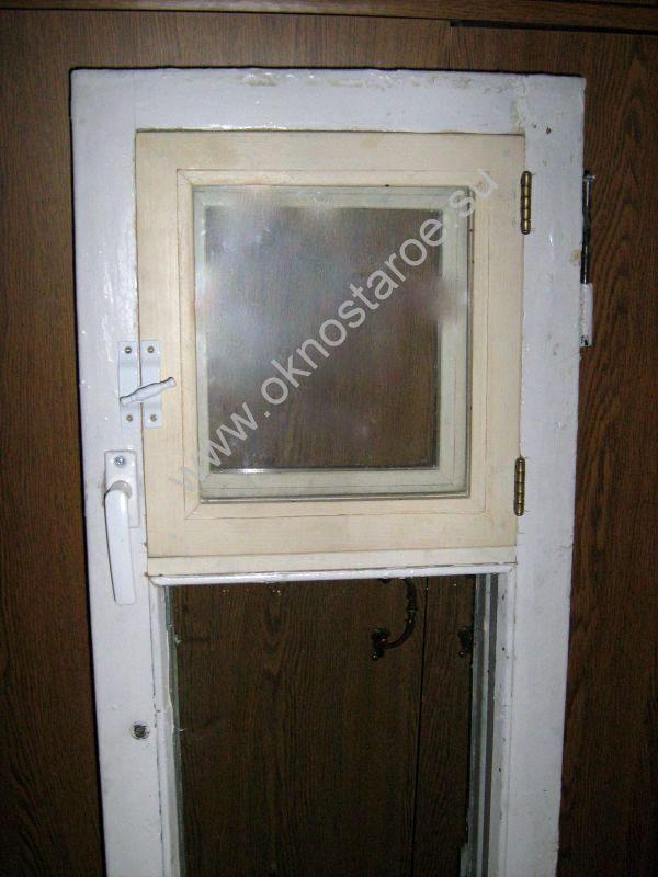 Как в окне сделать дверь